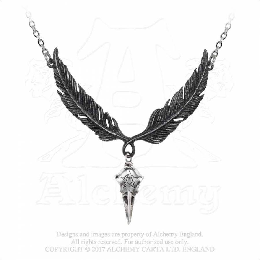 Incrowtation Raven Necklace