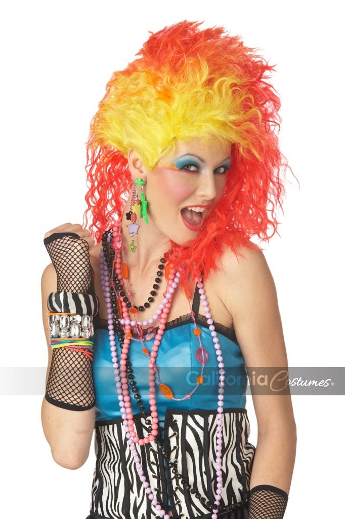 True Colors Cyndi Lauper Wig Costumania