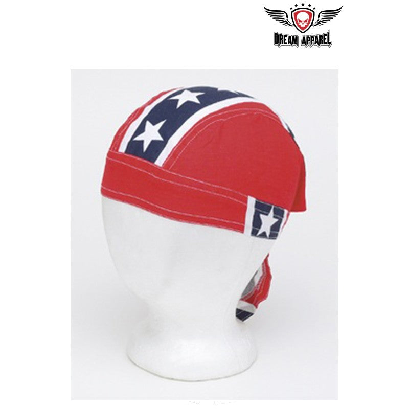 Cotton Skull Cap Rebel Flag