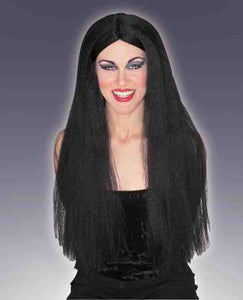 "Extra Long Black 30"" Wig"