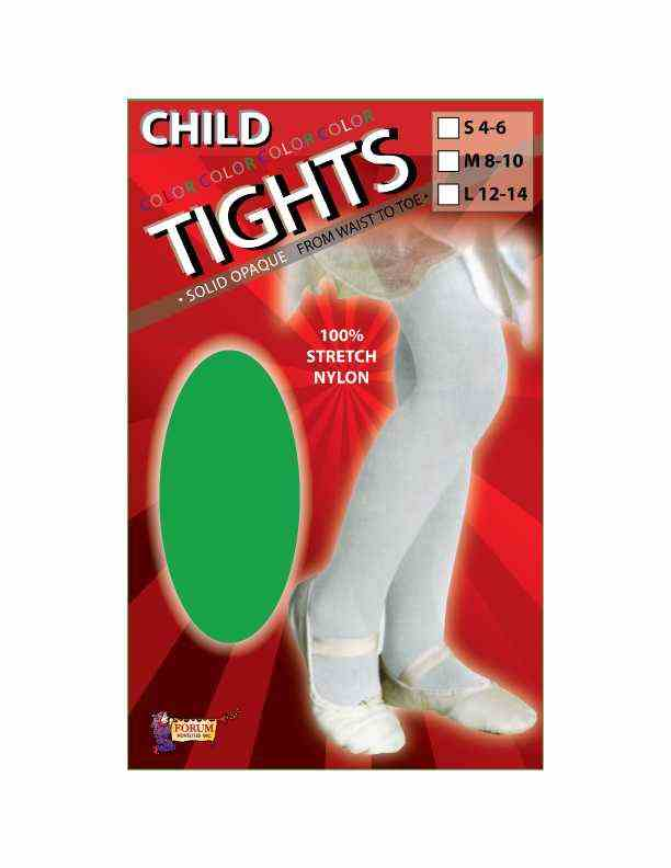 Child Tights Green Small