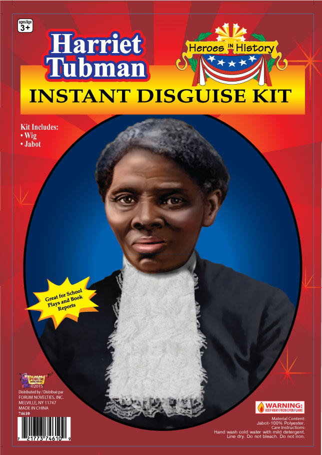 Harriet Tubman Disguise Kit