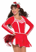 Cheerleader Pleated Skirt Red