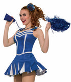 Cheerleader Pleated Skirt Blue