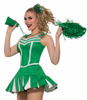 Cheerleader Pleated Skirt Grn
