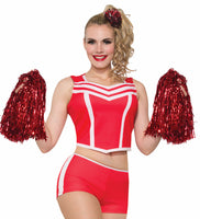 Cheerleader Shorts Red