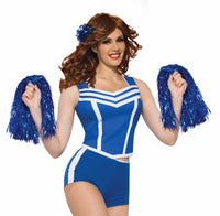 Cheerleader Shorts Blue