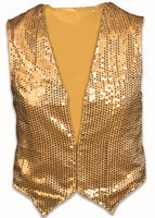 Sequin Vest Mens