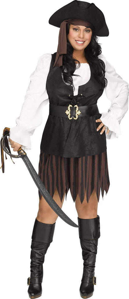 Rustic Pirate Maiden
