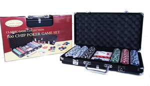 Poker Game Set 300 Chips