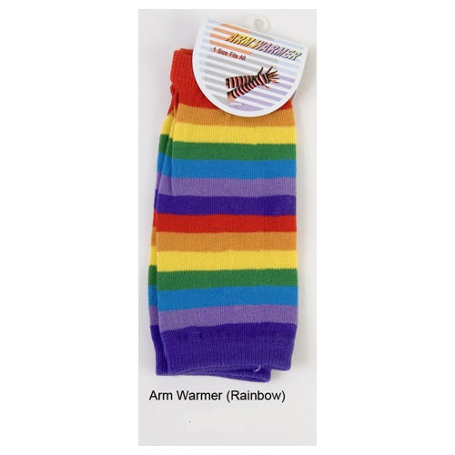 Rainbow Arm Warmers Short
