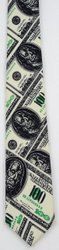 Money Print Tie