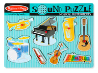 Music Instruments Sound Puzzle