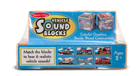 Vehicles Sound Blocks