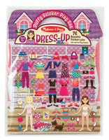 Puffy Sticker Set - Dress-Up