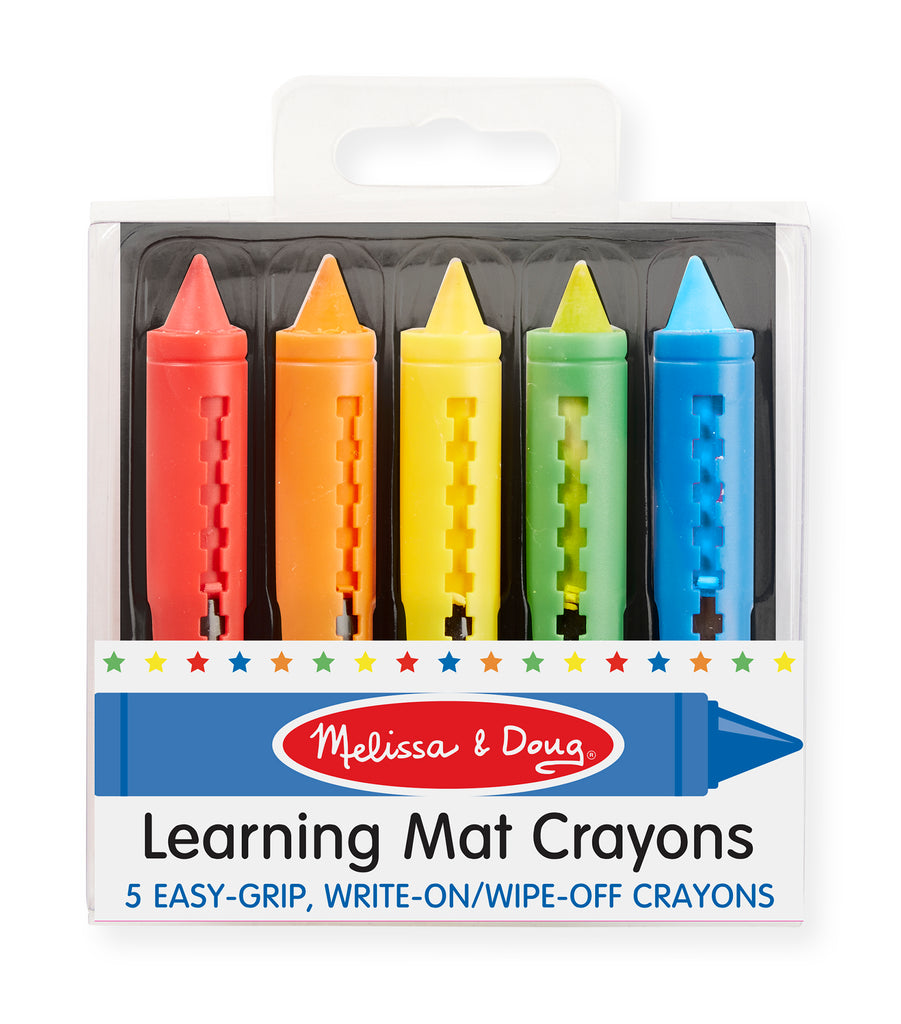 Learning Mat Crayons (5 colors