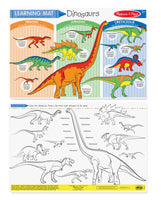 Color-A-Mat Dinosaurs