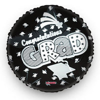 Graduation Balloon Black