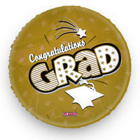 Graduation Balloon Gold