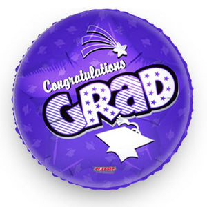 Graduation Balloon Purple
