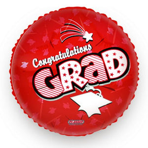 Graduation Balloon Red