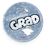 Graduation Balloon Silver
