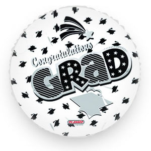 Graduation Balloon White