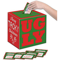 Ugly Sweater Box with Ballots
