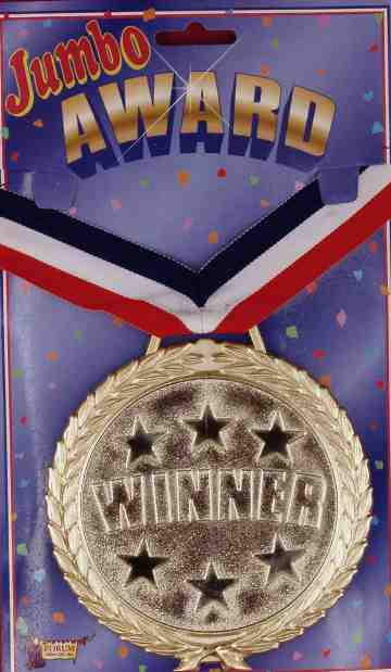 Jumbo Gold Winner Medal