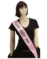 Girls' Night Out Sash