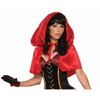 Little Red Hooded Cape