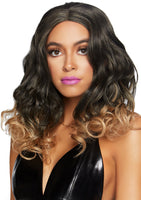"18"" Curly Ombre Wig Blonde"