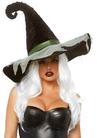 Ruched Witch Hat