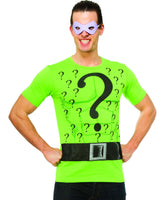 Riddler T-Shirt & Mask Adult