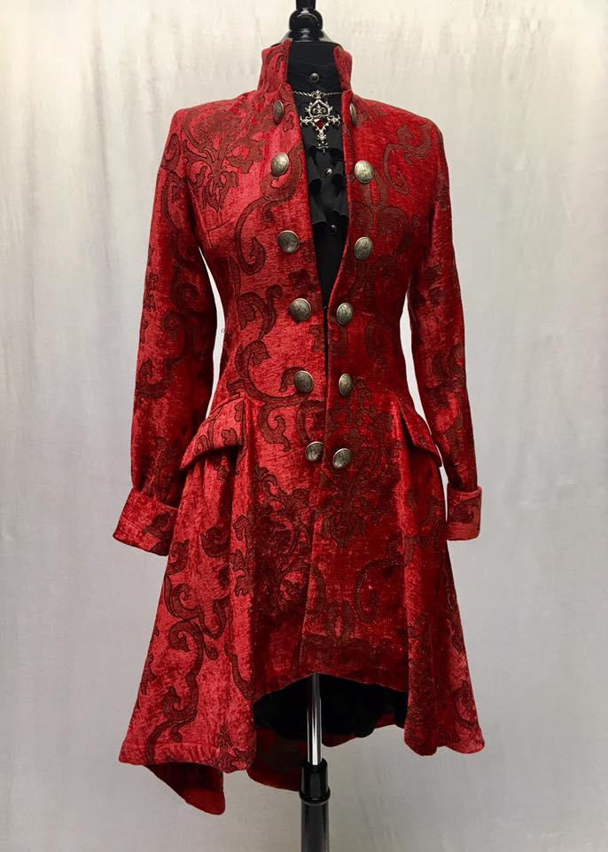 Red Lionheart Coat
