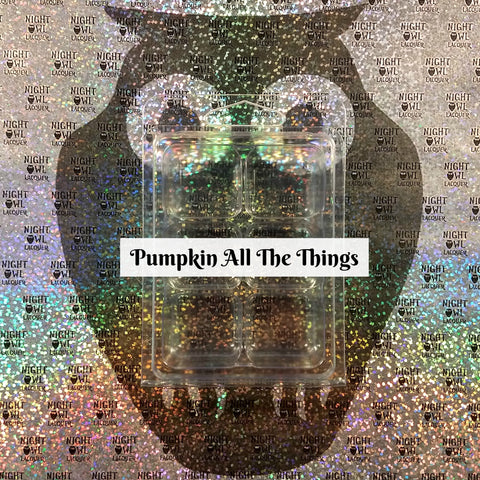 Pumpkin All The Things ***Pre-order***