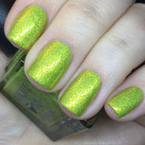 Yellow Metallic Holo