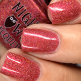 Red Metallic Holo