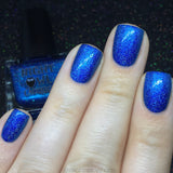 Blue Metallic Holo