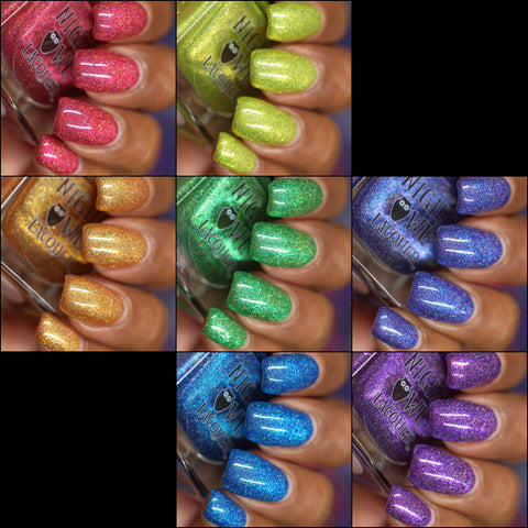 Metallic Rainbow