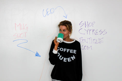 Coffee Queen Sweater