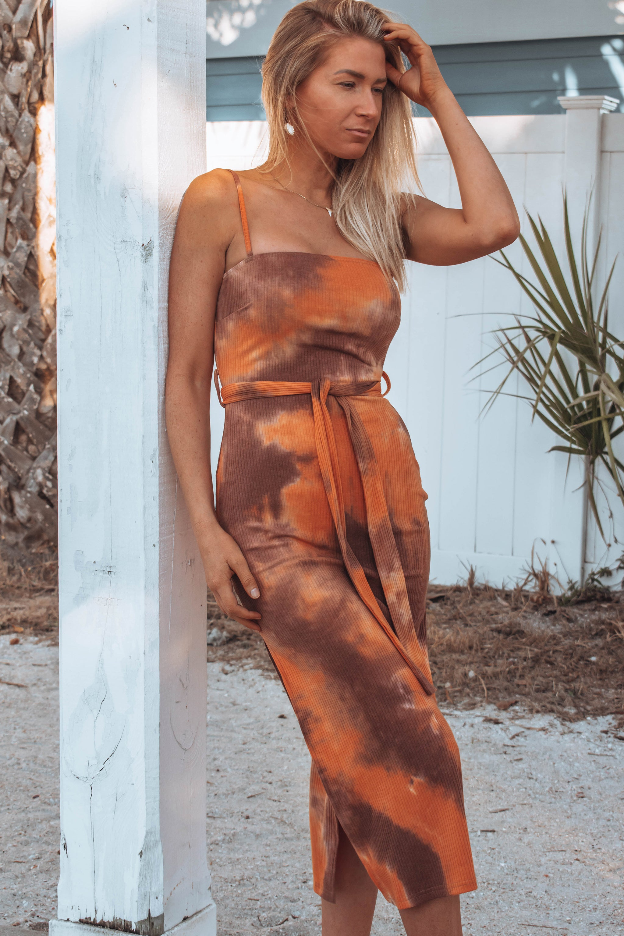 Tallon Tie Dye Midi Dress