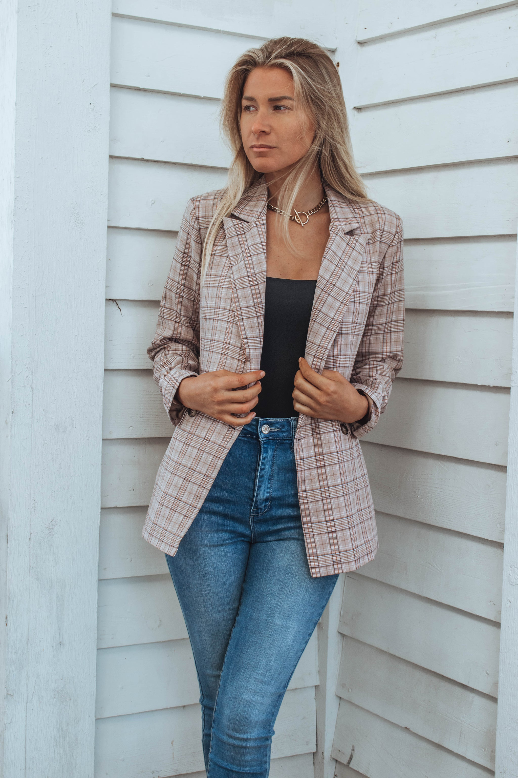 Merino Double Breasted Blazer
