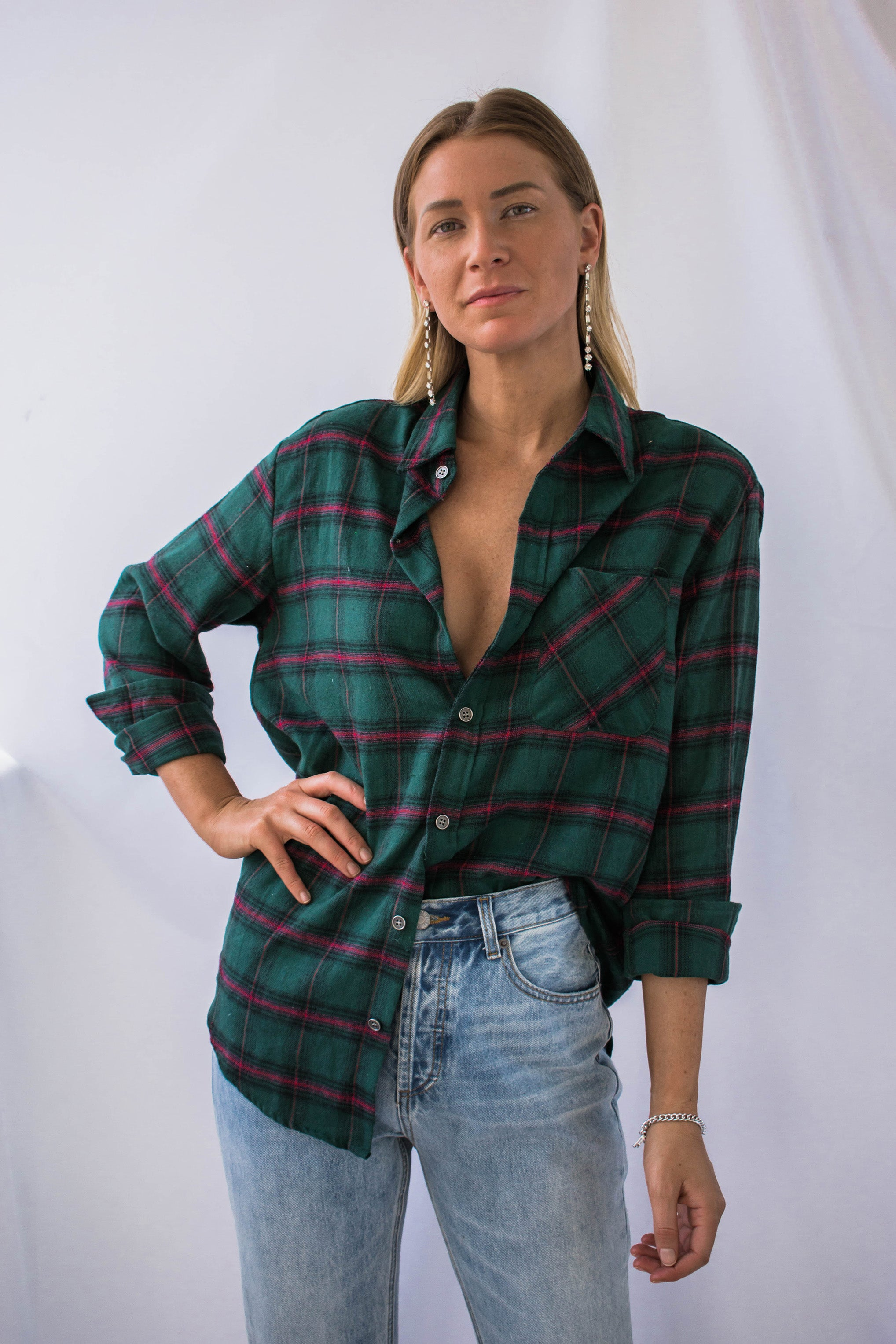 Wells Button Down Flannel