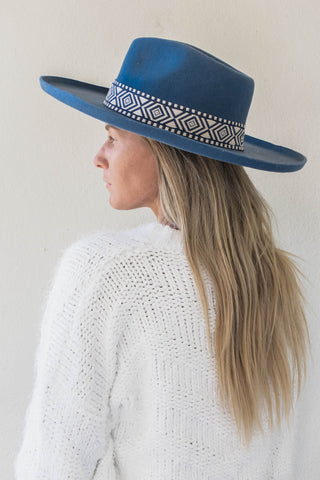 Sterling Wide Brim Hat - Grey