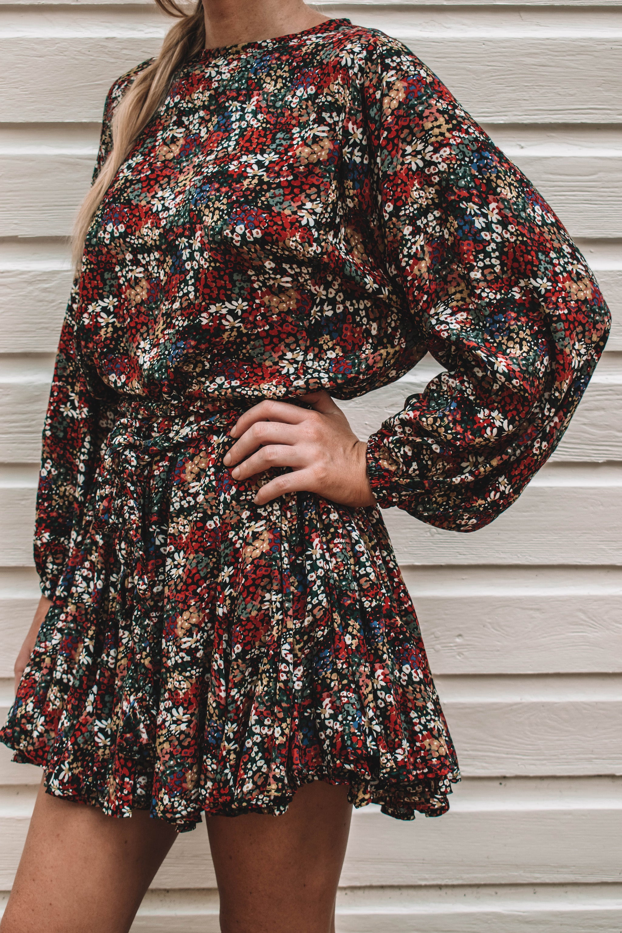 Maisy Floral Mini Dress