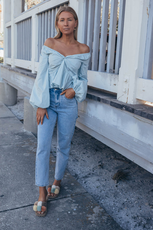 Fresia Off The Shoulder Top