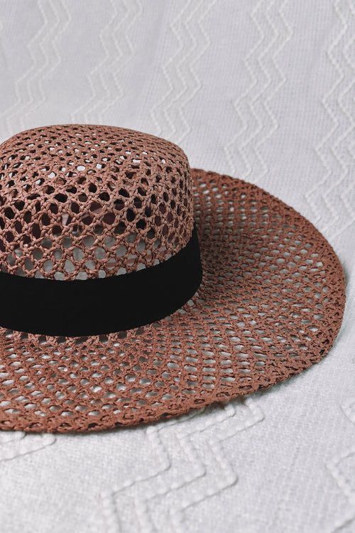 Reef Boater Hat - BLUSH
