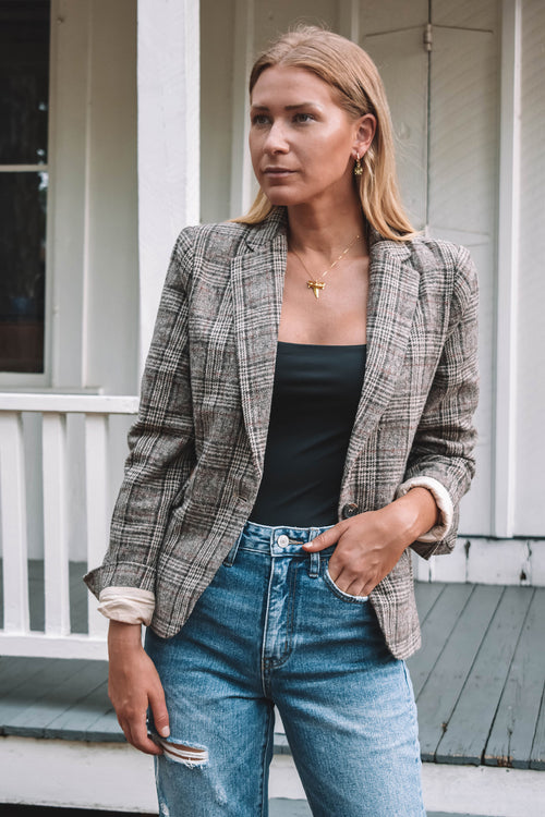 Calhoun Plaid Blazer