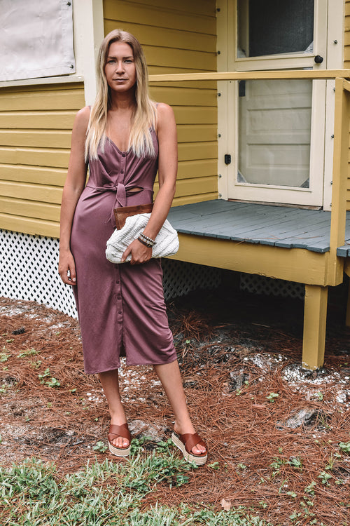 Hampton Button Down Midi Dress